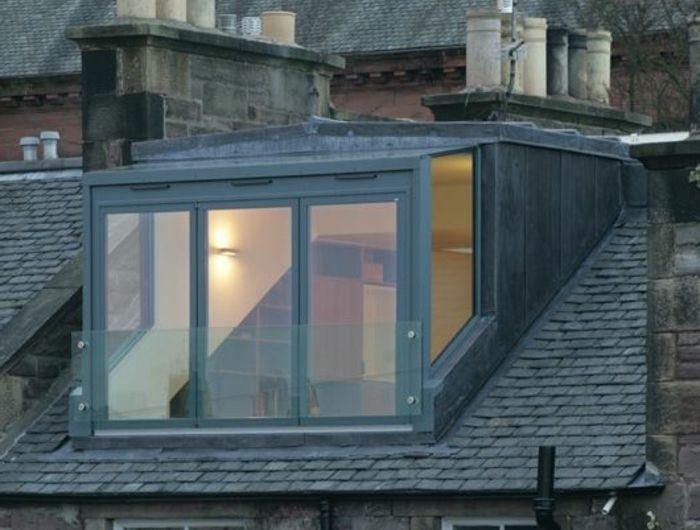 La lucarne de toit en 60 images inspiratrices - maison avec toit en verre