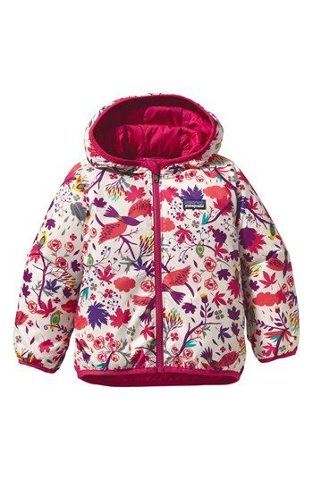 e325296d86ab Patagonia  Puff Ball  Reversible Jacket (Toddler Girls) available at ...