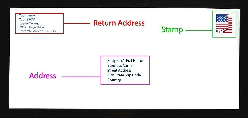 How To Write On An Envelope Addressing Envelopes Lettering Letter Addressing