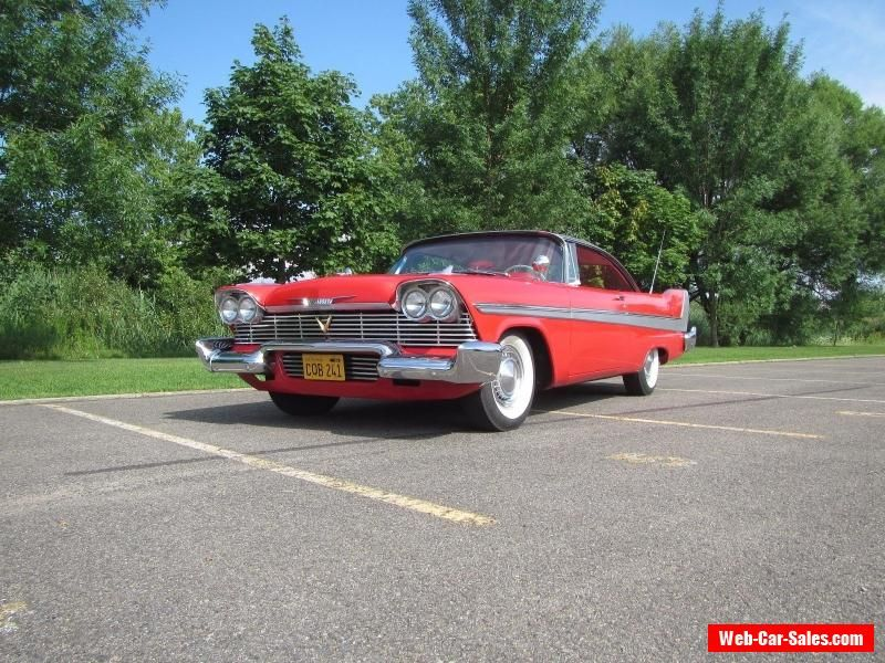 1958 Plymouth Fury Clone Plymouth Furyclone Forsale Canada