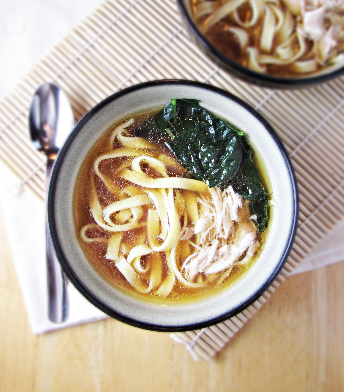 Homemade Ramen Noodle Soup {Katie at the Kitchen Door}