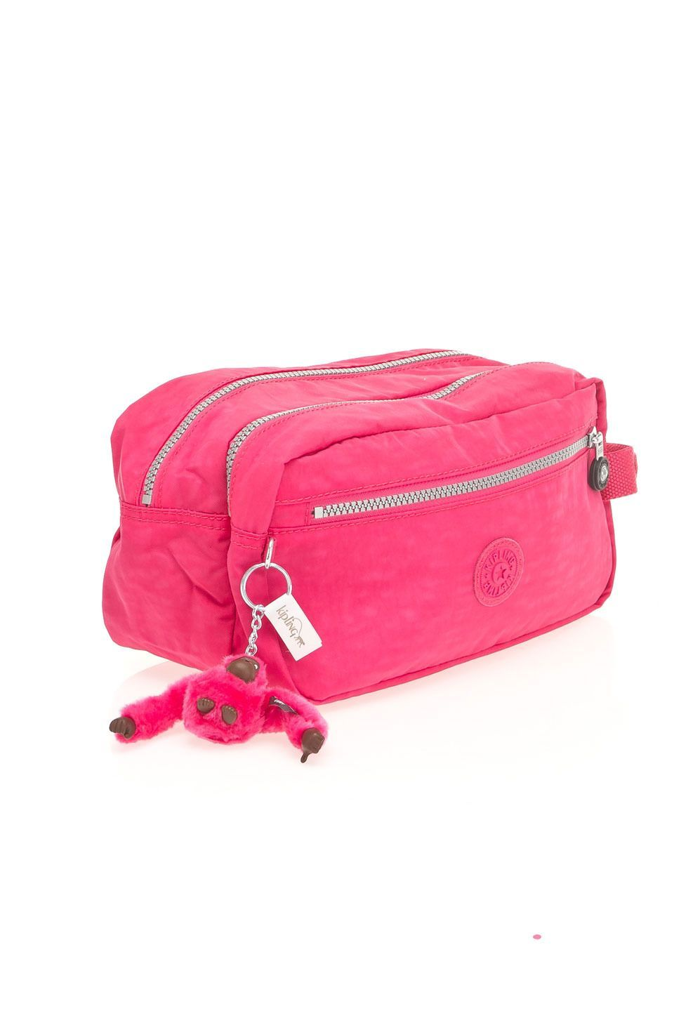laest technology perfect quality best choice Kipling Agot Large Toiletry Bag in Vibrant Pink - Beyond the ...