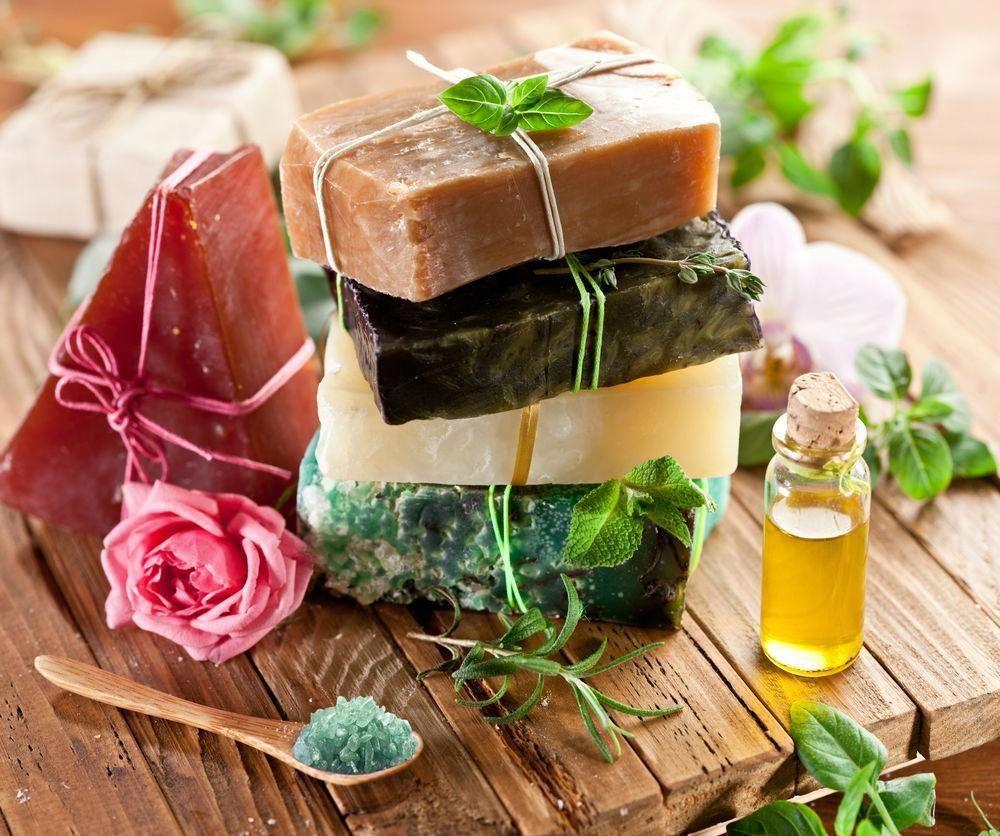 Natural private label organic oatmeal exfoliating soap