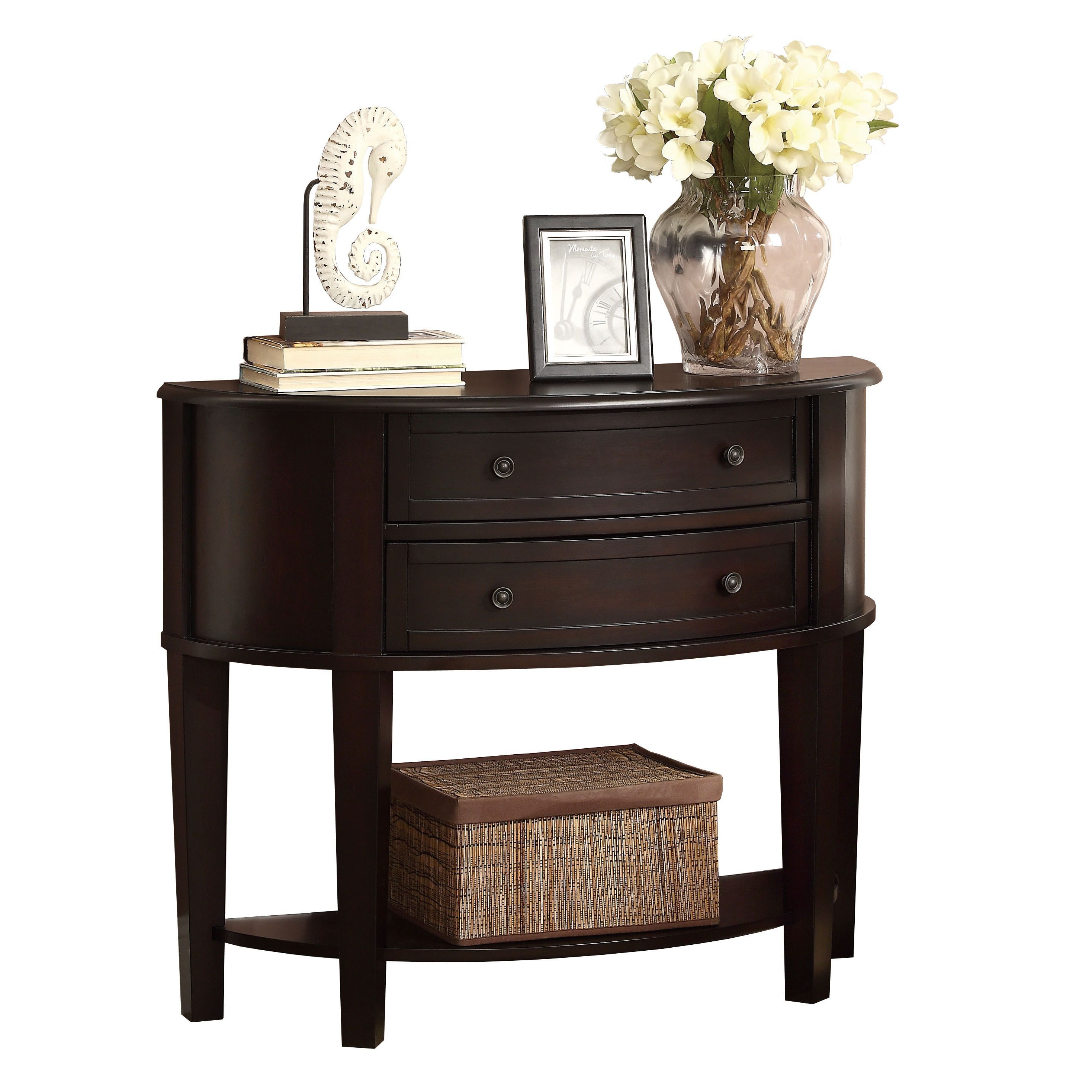 This Simple Demilune Console Table Is The Perfect Addition To Any