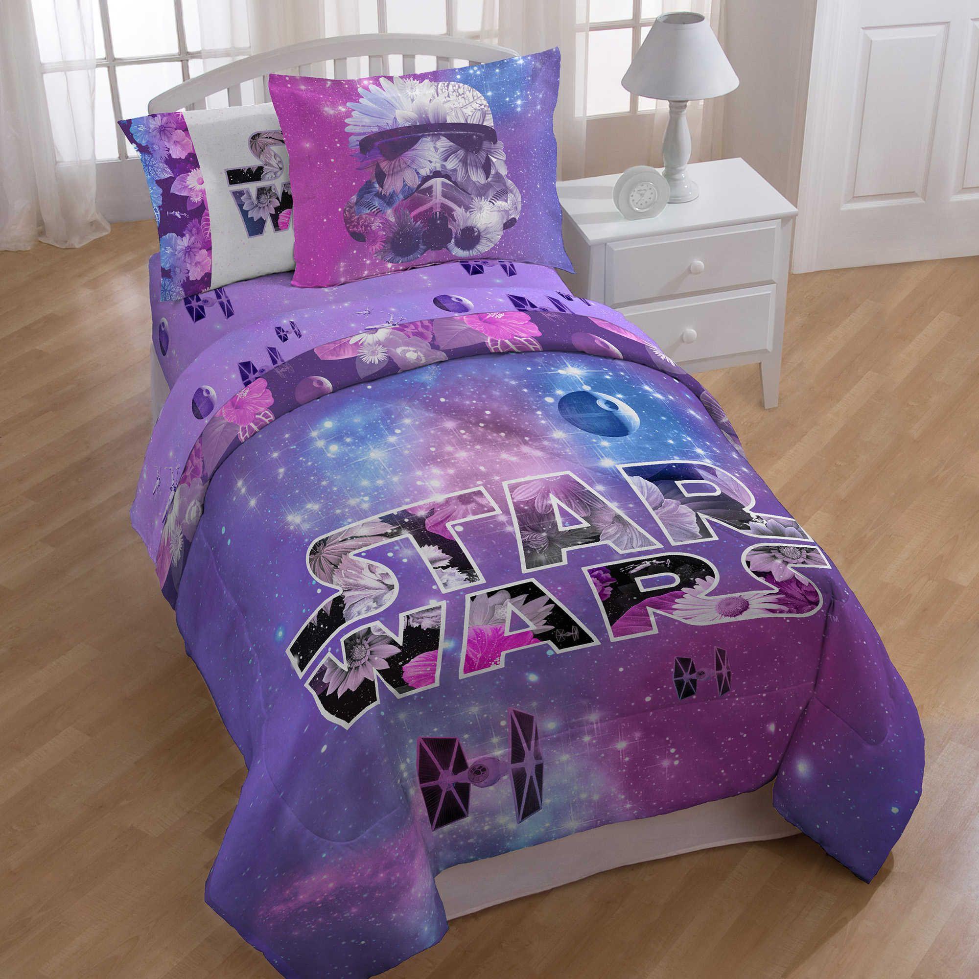 Star Wars Galaxy Comforter Star Wars Bed Star Wars Bedroom
