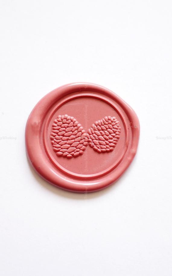Pinecone Sealing Wax Stamp -Pinecone Wax Seal Stamp - Letter Wax