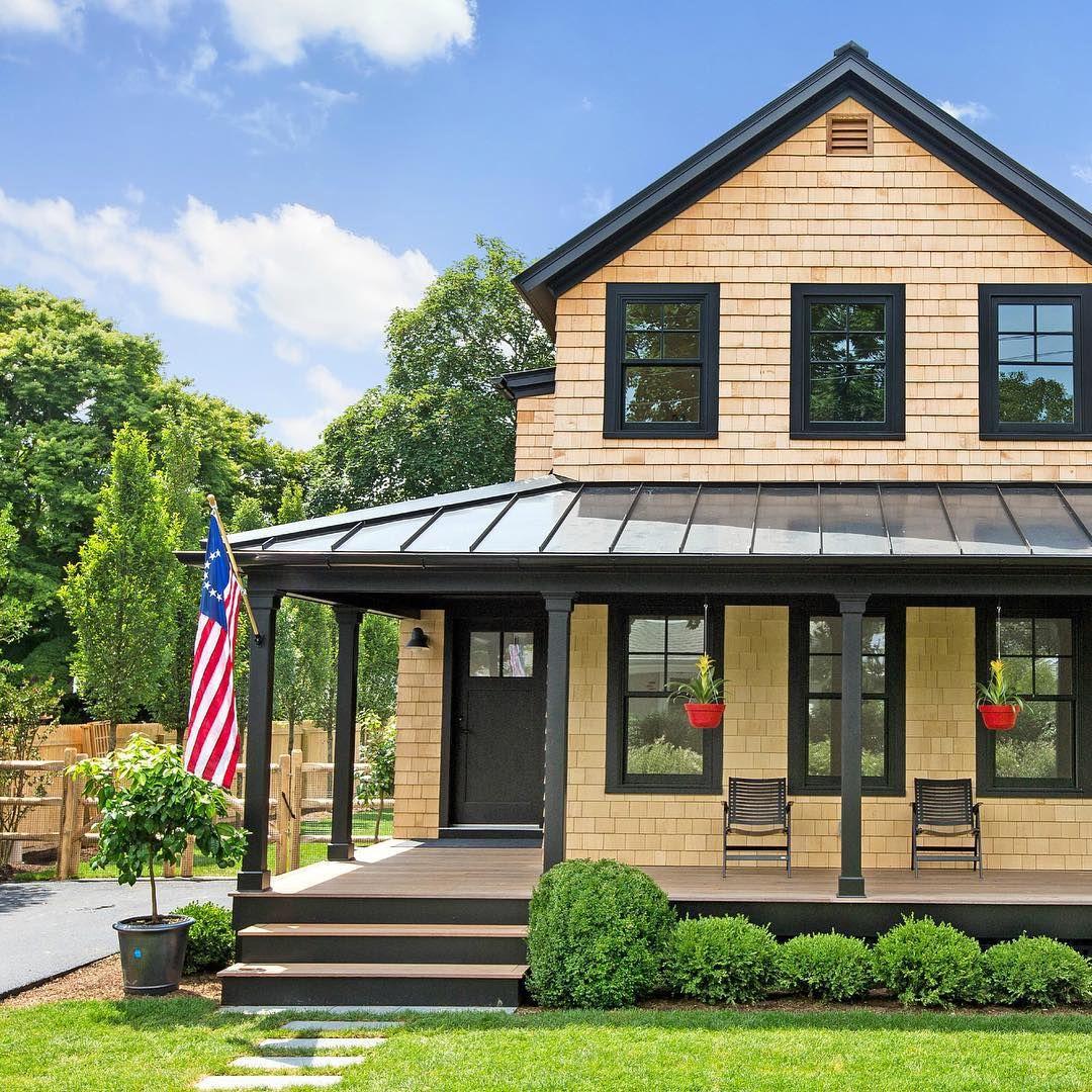 Instagram Modern farmhouse, House exterior, House styles