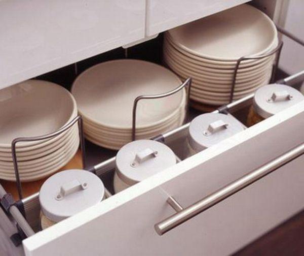 Küchenschubladen 57 praktische ideen für die organization der küchenschubladen