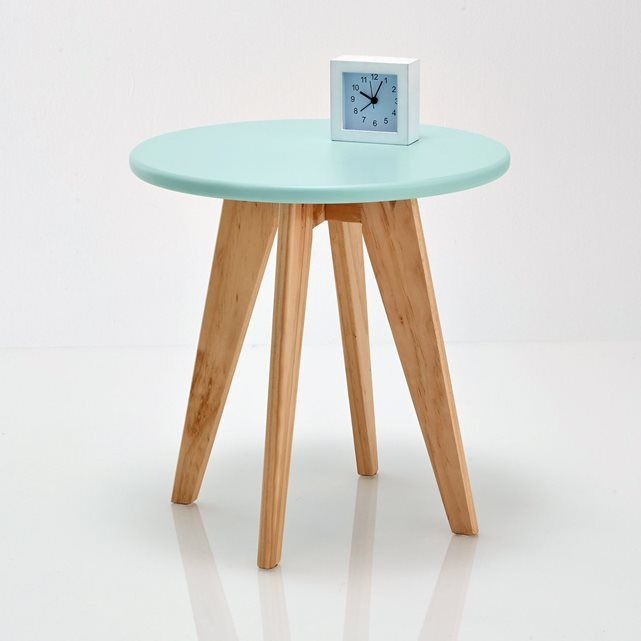 Round Table La Mesa.Jimi Round Bedside Table La Redoute Interieurs La Redoute Sehpa
