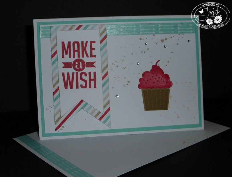 Stampin'UP! Create a Cupcake & cupcake builder, Stampin' UP! Perfect Pennants