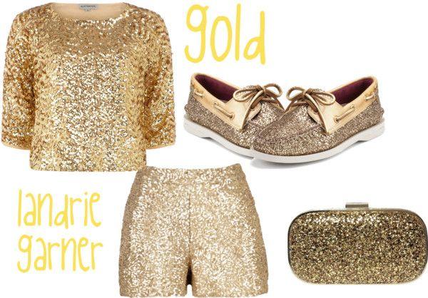 """gold"" by landriegarner on Polyvore"