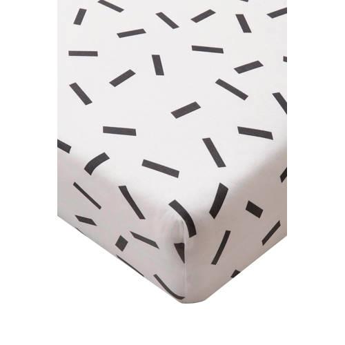 Hoeslaken Zwart Wit.Whkmp S Own Katoenen Hoeslaken Zwart Wit In 2019 Products Linen