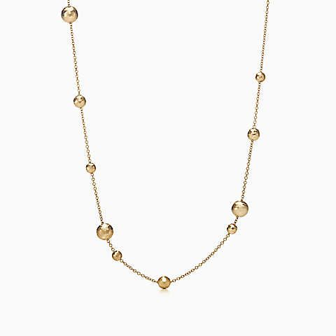 Collana a palline Hammered Paloma Picasso® in oro 18k.