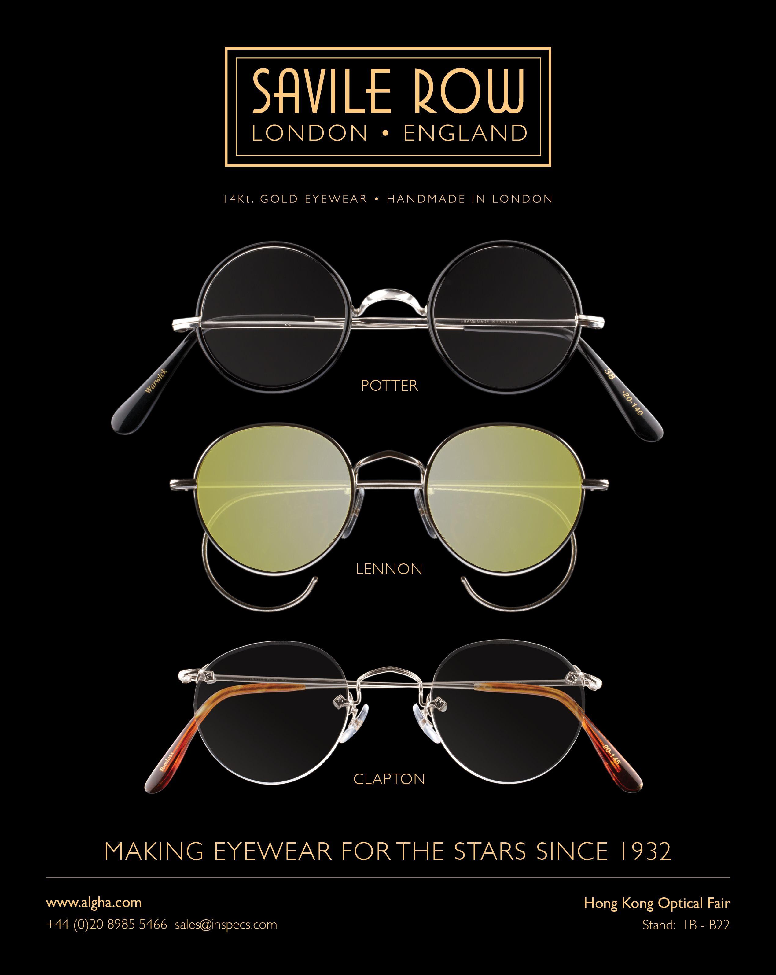 4f2649cb7b Savile Row Eyewear
