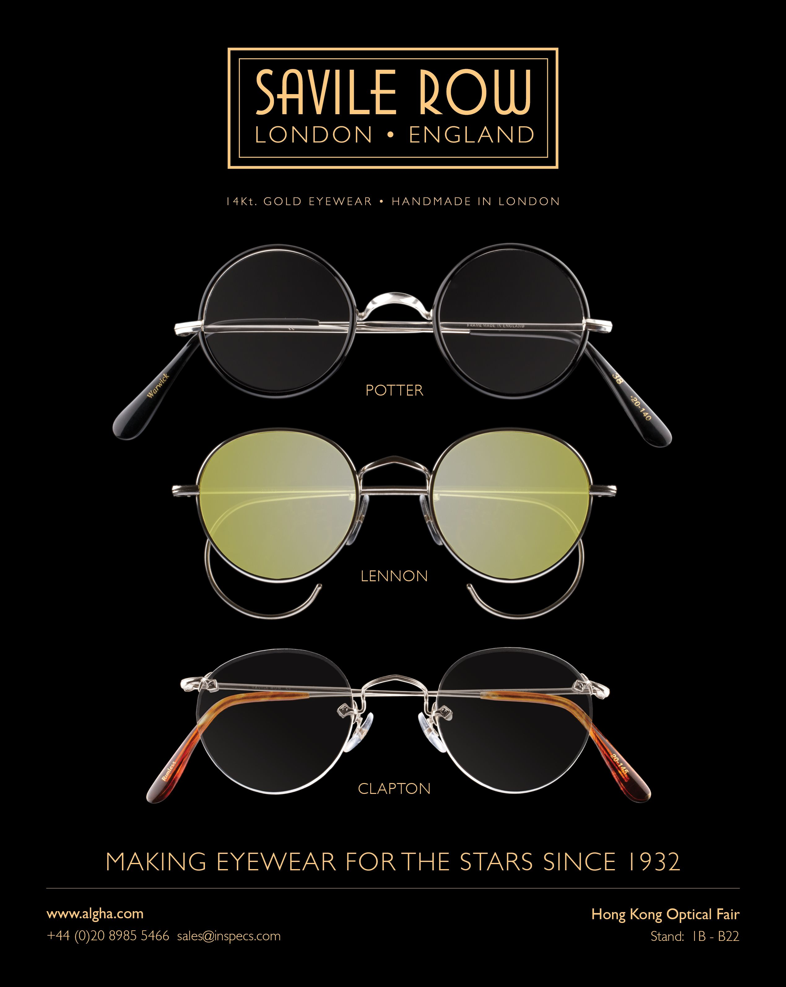 90ac3f967c40 Savile Row Eyewear | Savile Row in 2019 | Eyewear, Round sunglasses ...