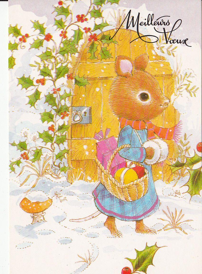 Dresed Animals NEW Year Fantasy Postcard | eBay