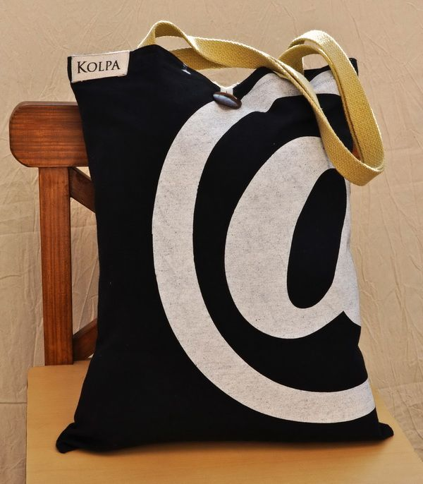 100% Cotton Canvas #Tote. Great look from #Kolpa, #Nepal