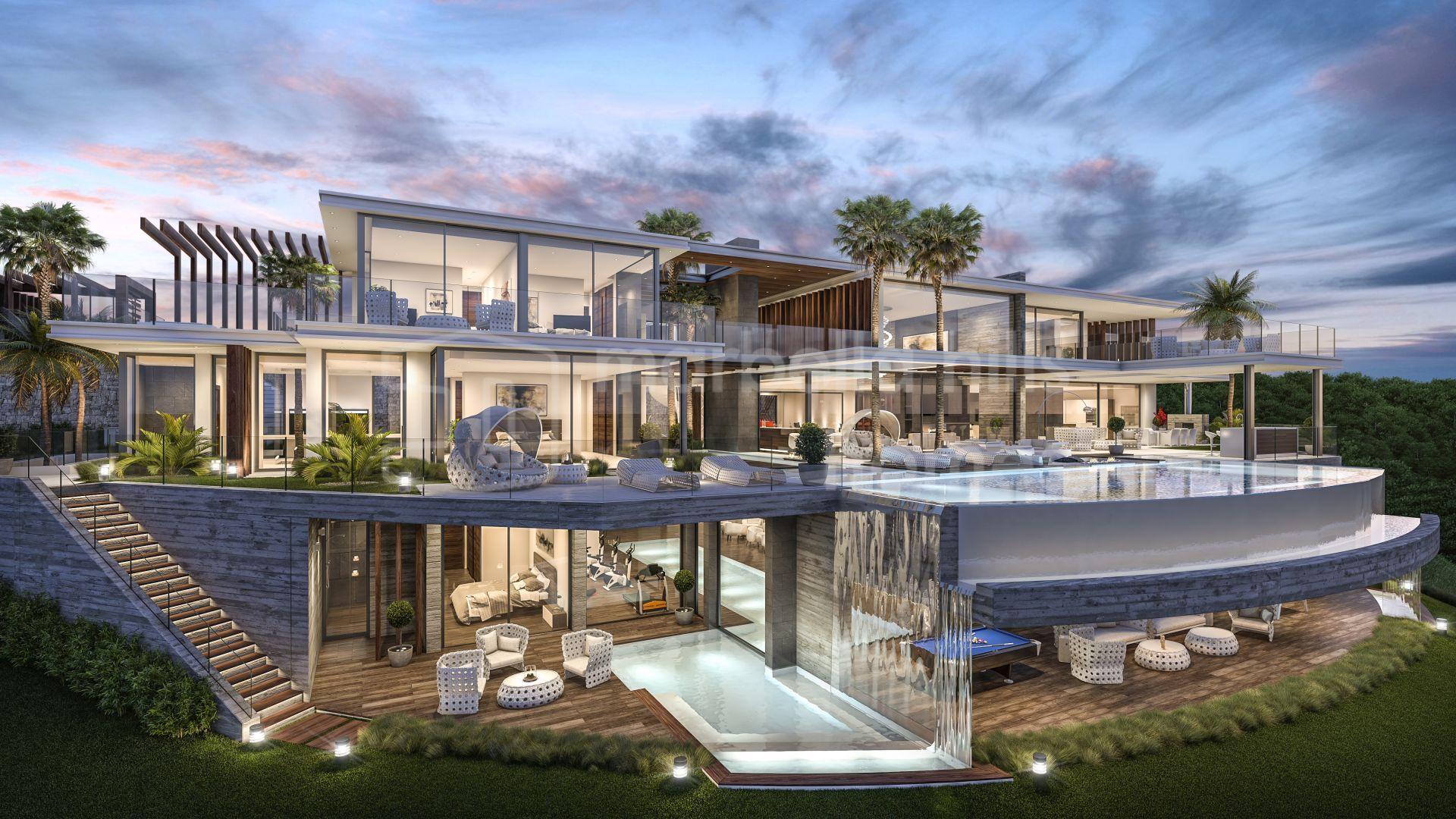 Villa A Vendre A La Zagaleta Benahavis Nouvelle Realisation D Une
