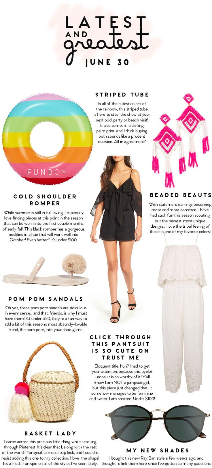 Latest and Greatest | June 30 | best fashion and beauty this week || a lonestar state of southern
