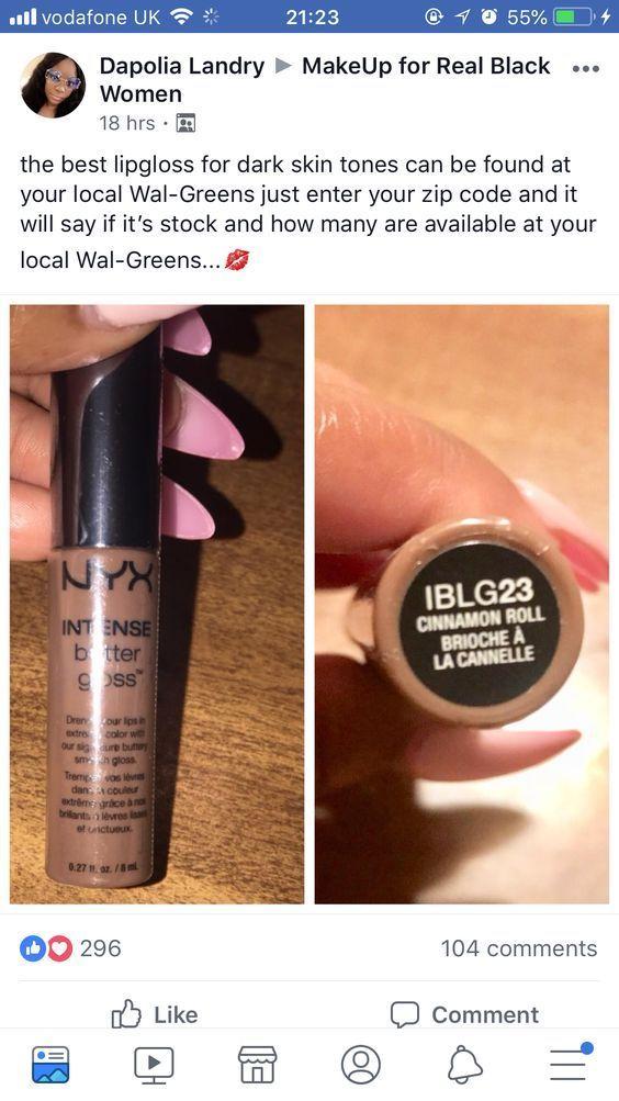 Easy Makeup Tips for Black Women Step by Step #darkskingirls lip gloss for dark skin tones #darkskingirls
