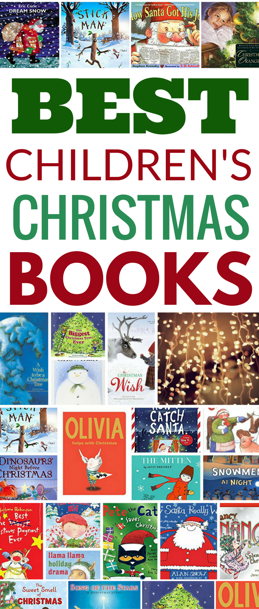 50 best childrens christmas books