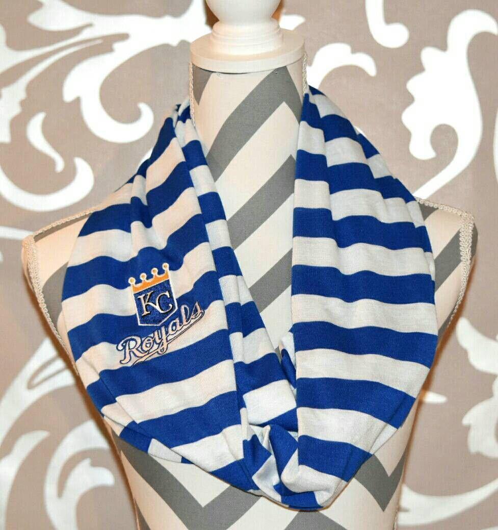 Royals Scarf Embroidered, Mlb logos, Kc royals