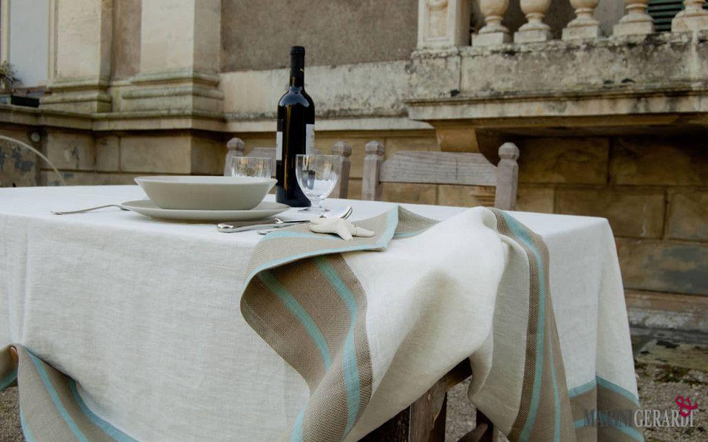Tovaglie Di Lino Moderne.Tovaglie Di Lino Online Tovaglie Da Tavola Antimacchia Home