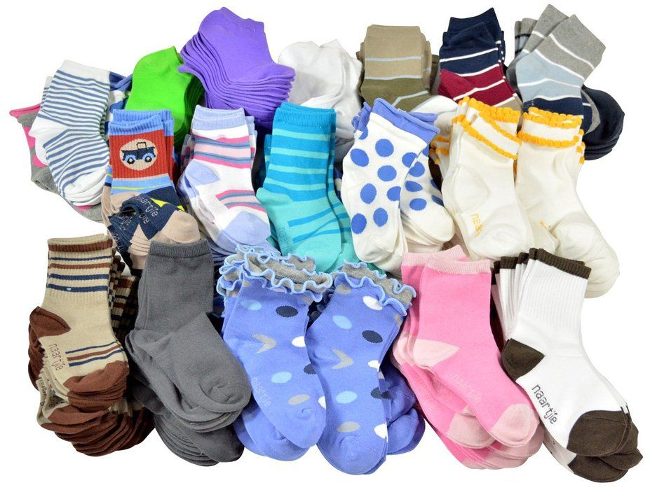Kids 50 Pairs Asst-Samples (18-24M) for less then $25