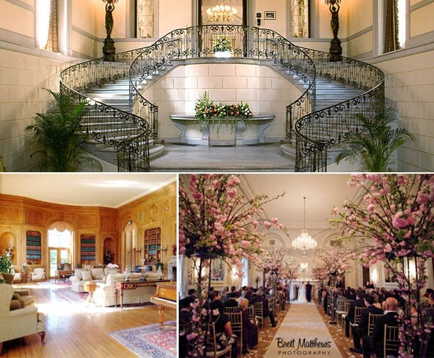 Spiral Staircase, Indoor Wedding