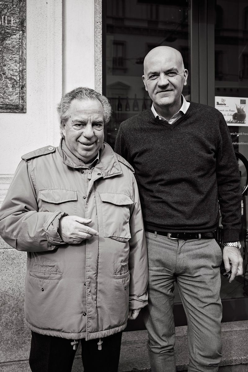Marco Eugenio Di Giandomenico and Vince Tempera (Milan, Febr. 13, 2017) (photo by Guido Bollino)