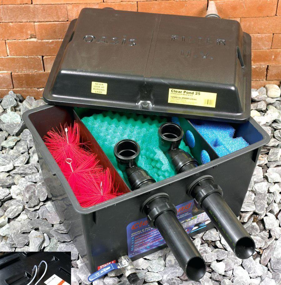 Diy Koi Pond Filter Homemade Pond Filter Box Crazy