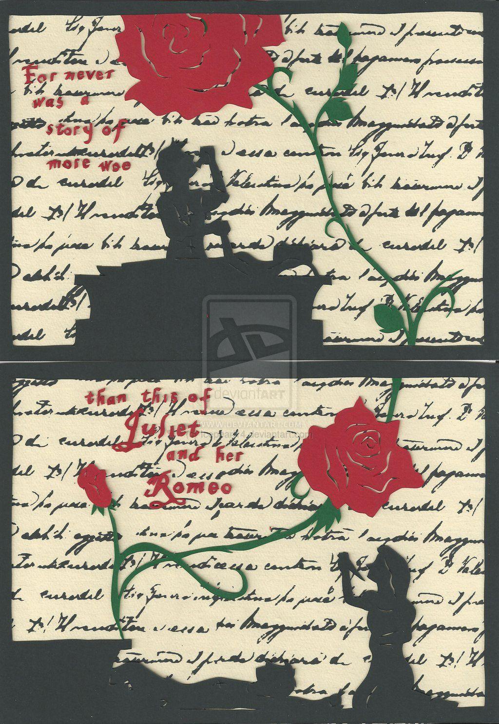 Juliet scrapbook ideas - Romeo And Juliet Art