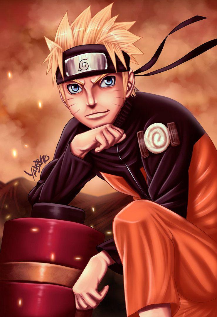 Naruto Uzumaki by Yahik0 Animes feminino
