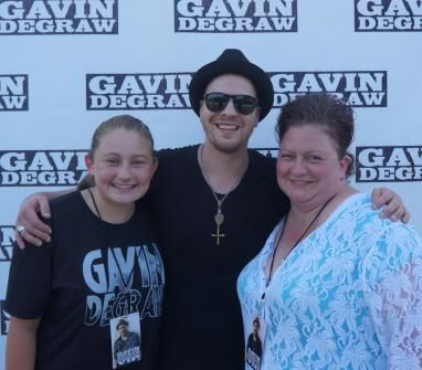 Mr. G, my daughter~Lauryn & I...Raleigh-August 5th 2014