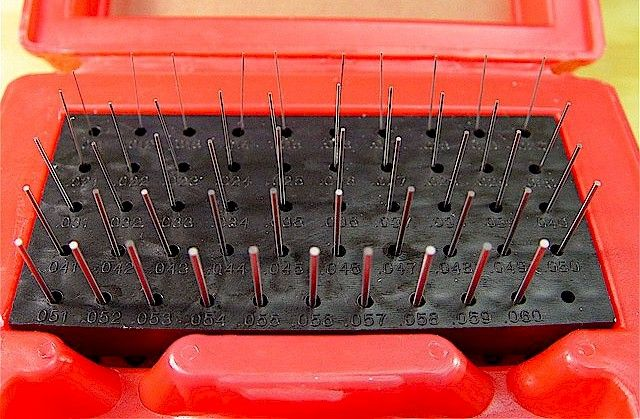 pin gauge set. pin/plug gage sets - id type gages for measuring hole diameters \u0026 slot widths pin gauge set