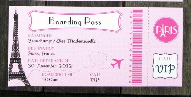 Paris Party Printables Invitations Decorations Pink Paris Invitations Passport Invitation Template Passport Invitations
