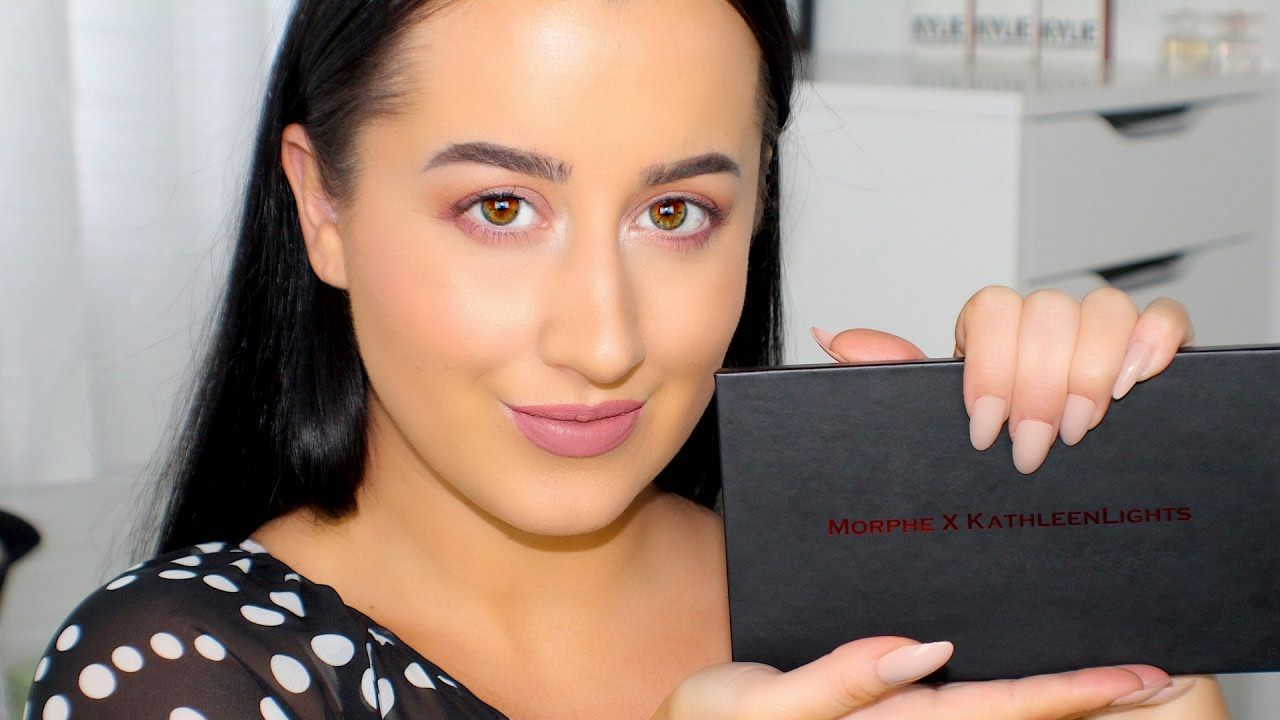 KATHLEENLIGHTS X MORPHE Palette | Tutorial, Swatches & Review! Today is a tutorial, review and swatches video for the NEW Morphe X KathleenLights eyeshadow palette!