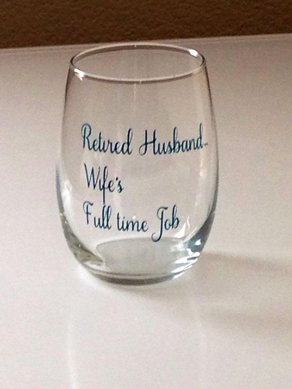 Funny Retirement Gift Wine Glass For Mom A Friend Retiring Parents Gifts Bo