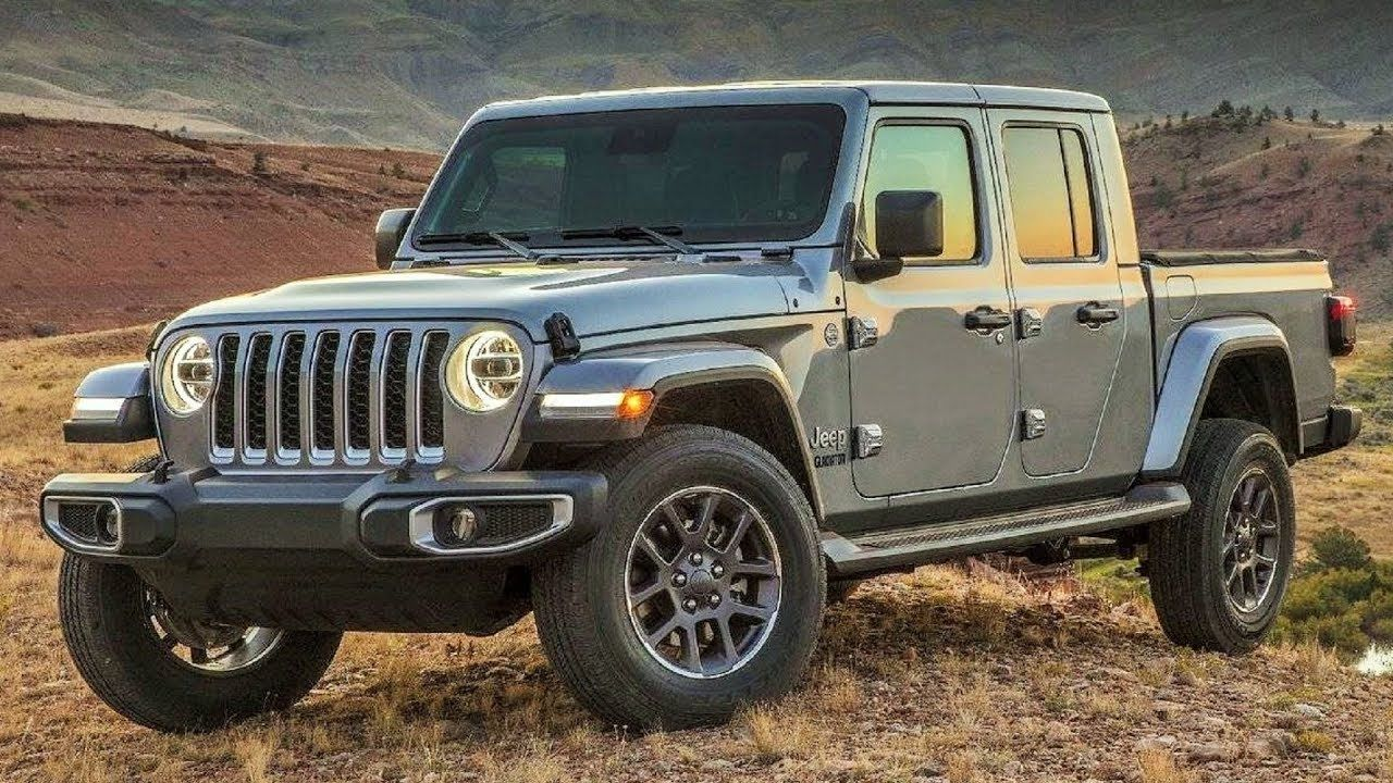 2019 Jeep Gladiator Overland Legendary 4x4 Capability in