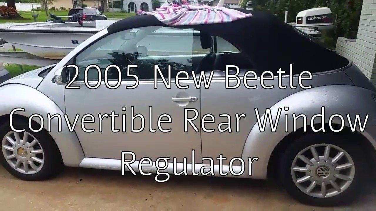Vw Beetle Convertible Window Motor Regulator Repair For Less Than 20 Vw Beetle Convertible Beetle Convertible Vw New Beetle