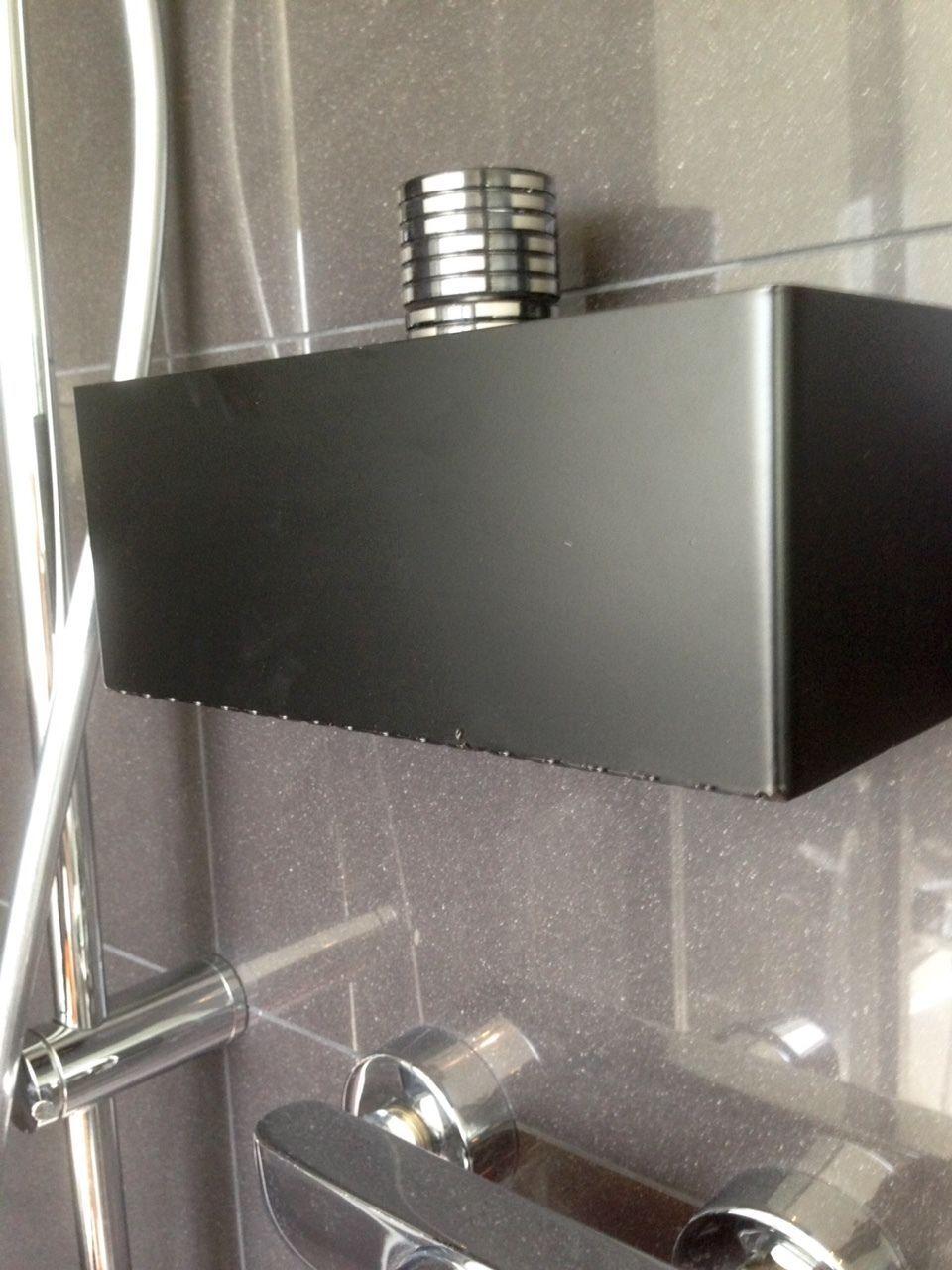 Dusche Bad Wc Ablage Duschregal Seifen Shampoo Regal Ohne Bohren Schwarz Masiv Duschregal Regal Ohne Bohren Ablage Dusche