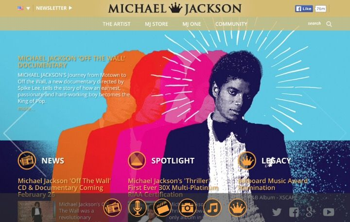 We have received the following information directly from the Michael Jackson Estate : We're happy to share with you that on February 26, the Estate of Michael Jackson and Sony Legacy Recordings wil…