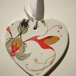 Swoon & Blues: Ceramic Heart (Designer based in Sydney) Just gorgeous work...