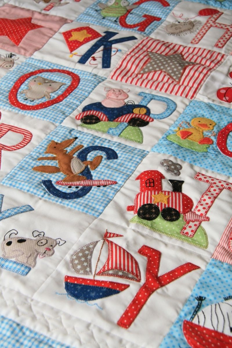 Abc Design Buggy Board Anleitung Abc Boys Quilt Pattern By Red Brolly Applique