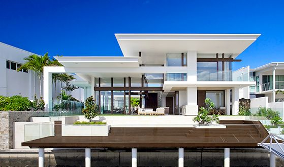 Gorgeous Riverhouse: Mooloolah Islandu0027s Stylish Waterfront Home