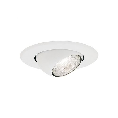 4in Line Voltage Recessed Lighting Trim with Eyeball Recessed