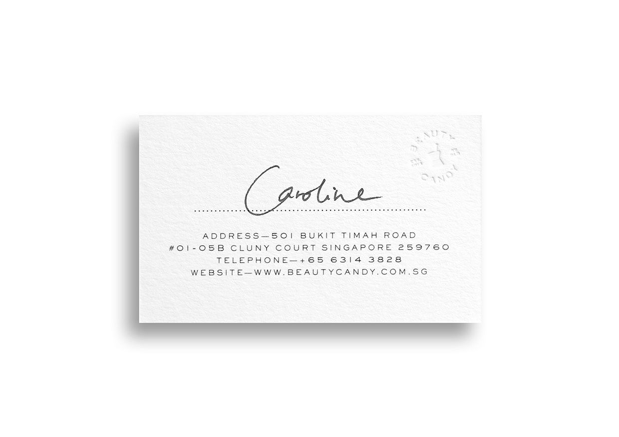 Beauty candy business card and brand identity by bravo company beauty candy business card and brand identity by bravo company reheart Images