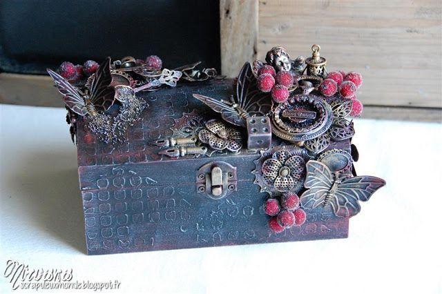 1e9fce338470 Mixed Media Place: Jewelry box by Nirvana + video | M M | Mixed ...