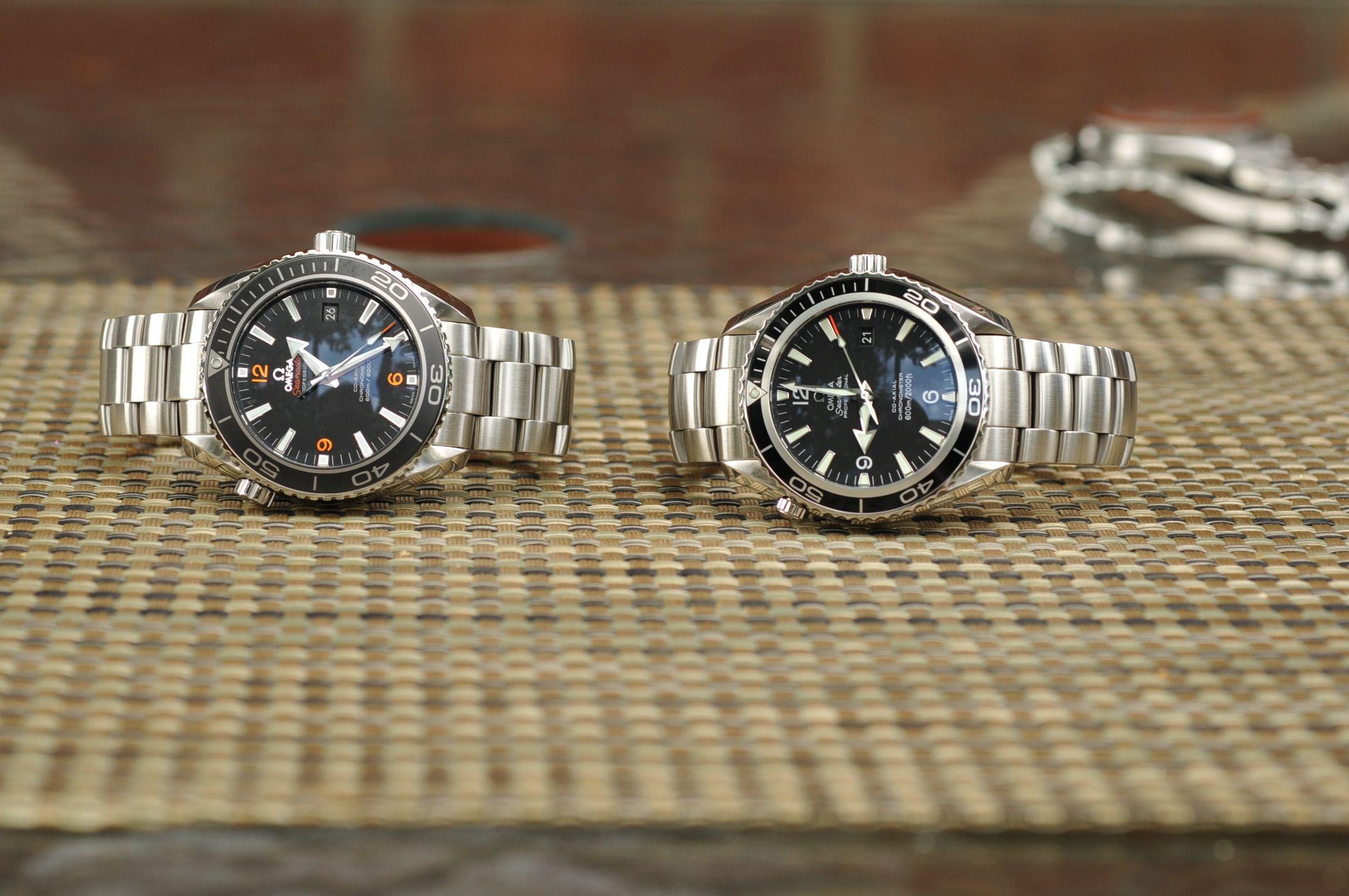 omega planet ocean 8500 vs 2500 classic time omega planet ocean
