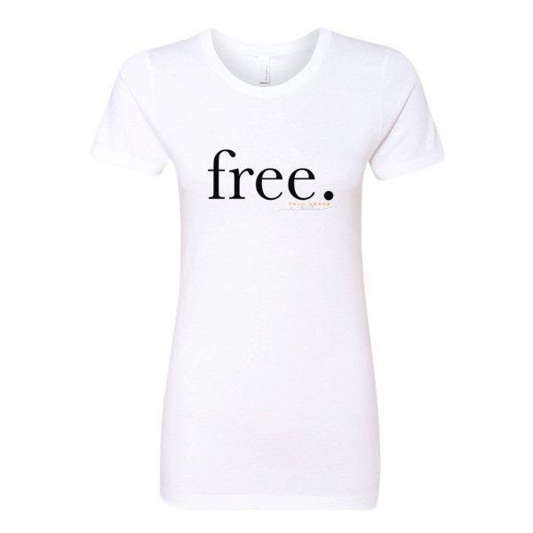 I am free tee